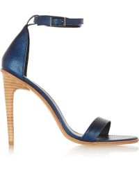Tibi Amber Leather Sandals - Lyst