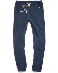 Todd Snyder X Champion | Indigo Heather Classic Sweatpant | Lyst