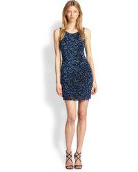 Parker Kenzie Sequined Body-Con Dress - Lyst