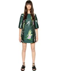 Marni Silk Blend Jacquard Dress - Lyst