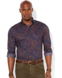 Polo Ralph Lauren Big and Tall Litchfield Paisley Shirt - Lyst