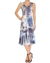 Komarov Sleeveless Dress - Lyst