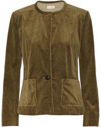 Etoile Isabel Marant Corduroy Jacket - Lyst