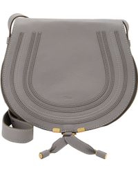 Chloé Marcie Crossbody Saddle Bag - Lyst
