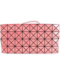 Bao Bao Issey Miyake Pink 'Prism' Clutch - Lyst