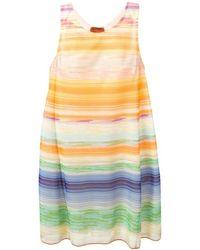 Missoni Striped Shift Dress - Lyst