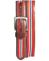 Jack Mason Brand | 'tailgate - Louisville Cardinals' Belt | Lyst