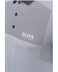 BOSS Green - Regular-fit Polo Shirt With Polka-dots: 'paddy Pro 1' - Lyst