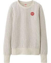 Uniqlo Women Coca Cola Sweat Long Sleeve Pullover - Lyst