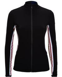 Fendi | Striped Zip-up Sweatshirt | Lyst