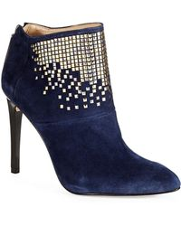 French connection Monroe Studded Booties - Lyst