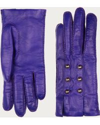 Bally - Lamb Nappa Gloves - Lyst