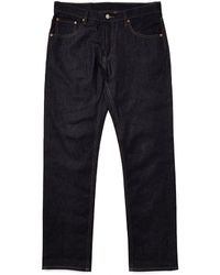 Cheap Monday Linear Jeans Blue In Loose Tapered Fit - Lyst