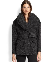 Burberry Brit Coleford Belted Coat - Lyst