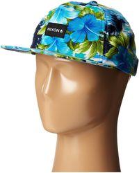 Nixon Luau Snap Back Hat - Lyst