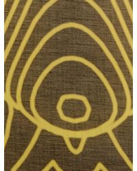 Christopher Kane   Digital Grid Headprint Scarf   Lyst