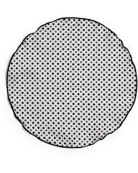 Edward Armah - Gingham And Quatrefoil Reversible Pocket Circle - Bloomingdale'S Exclusive - Lyst
