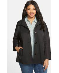 Ellen Tracy Kimono Cotton-Blend Jacket - Lyst