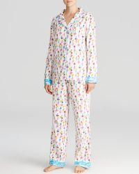 Munki Munki - When Pigs Fly Flannel Pyjama Set - Lyst