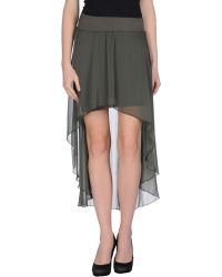 Agatha Cri - Mini Skirt - Lyst