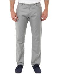 Calvin Klein Cotton Linen 5 Pocket Pant - Lyst