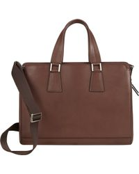 Barneys New York Briefcase - Lyst
