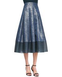 Sachin & Babi Combo Midilength Ball Skirt Navy 6 - Lyst