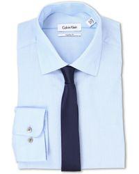 Calvin Klein L/S Regular Fit Shirt - Lyst