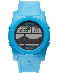 Nixon Rhythm Sky Blue Watch - Lyst