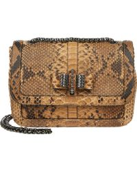 Christian Louboutin Python Sweety Charity Shoulder Bag - Lyst