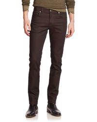 J.Lindeberg Mid-Rise Slim-Fit Jeans - Lyst