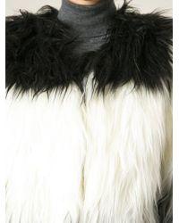 Oui, Odile! 'Angelique' Faux Fur Coat - Lyst