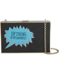 Anya Hindmarch 'Imperial Stop Staring' Clutch - Lyst
