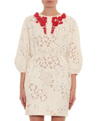 Giambattista Valli Embellished Fil-Coupé Organza Dress - Lyst