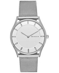 Skagen - Skw2342 Ladies Mesh Watch - Lyst