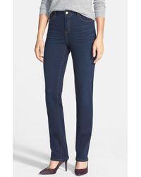 Christopher Blue Women'S 'Madison' Straight Leg Jeans - Lyst