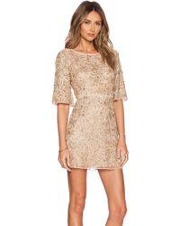 Alice + Olivia Drina Embellished Dress - Lyst