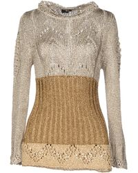Just Cavalli Gray Jumper - Lyst