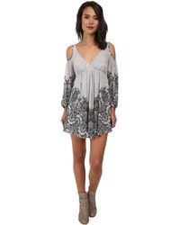 Free People Penny Lover Mini Dress - Lyst