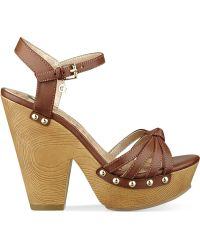 G by Guess Women'S Sational Two-Piece Platform Sandals - Lyst