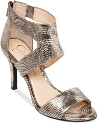 Jessica Simpson Mekos Dress Sandals - Lyst