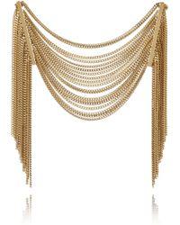 Chloé - Delfine Goldtone Chain Bracelet - Lyst