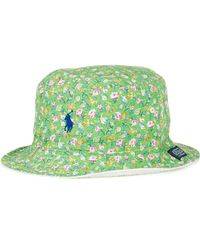 Ralph Lauren Polo Reversible Floralprint Bucket Hat - Lyst