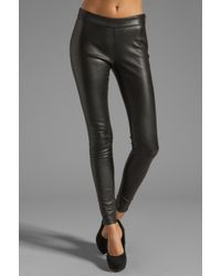 Mackage - Navi Stretch Leather Pant - Lyst