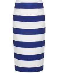 Camilla & Marc Moderator Striped Pencil Skirt - Lyst