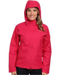 The North Face Red Dryzzle Jacket - Lyst