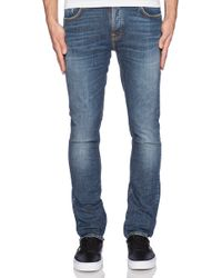Nudie Jeans Blue Grim Tim - Lyst