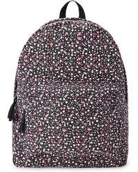 Forever 21 Floral Canvas Backpack - Lyst