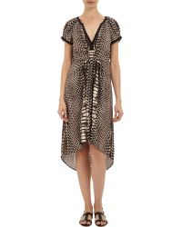 Twelfth Street Cynthia Vincent - Python-Print High-Low Dress - Lyst
