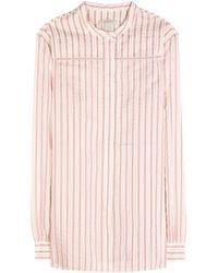 Burberry Brit Cotton-Blend Shirt - Lyst